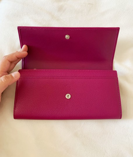 Givenchy Givenchy Pandora Long Flap Wallet in Leather Image 4