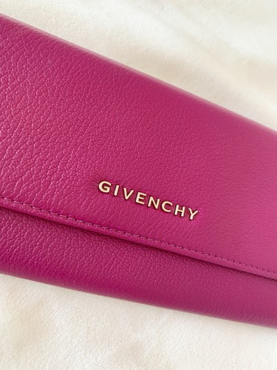 Givenchy Givenchy Pandora Long Flap Wallet in Leather Image 5