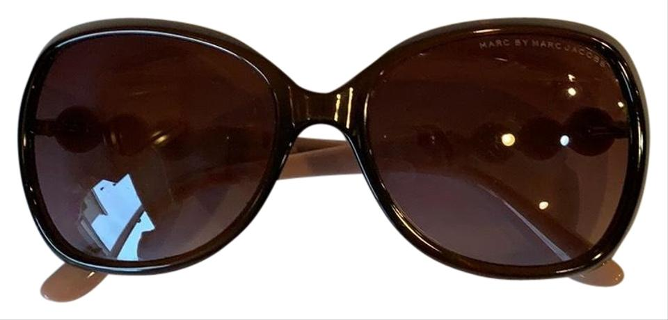 e4dd760e21e2 Marc by Marc Jacobs Brown and Pink Sunglasses - Tradesy