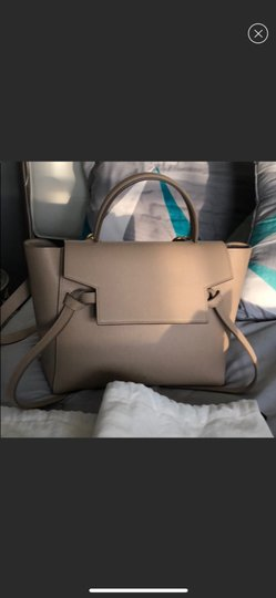 Céline Satchel in light taupe