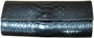 Ted Rossi Python Clutch Baguette