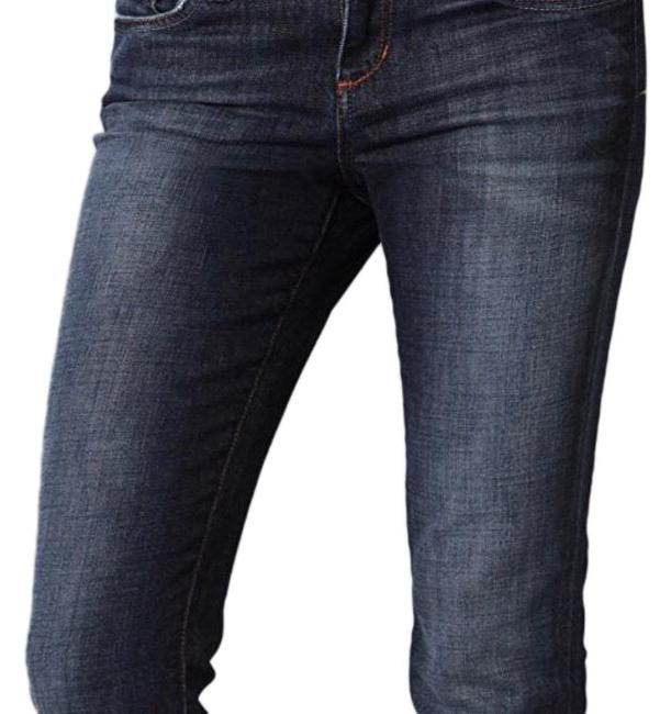 Item - Dark Rinse The Visionnaire Skinny Boot Cut Jeans Size 6 (S, 28)