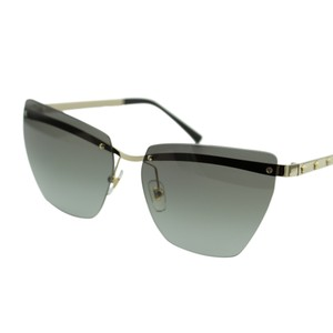 25c937a11a6 Versace New Medusina Ve2190 Women Pale Gold Rimless Cat Eye 58mm Sunglasses