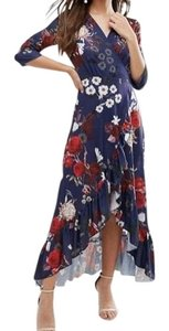 Navy Maxi Dress by QED London
