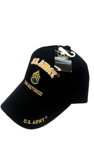 KYS Design U.S. Army SSG Retired Cap Image 1