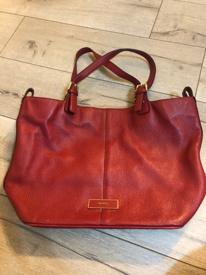 DKNY Tote in Red Image 2