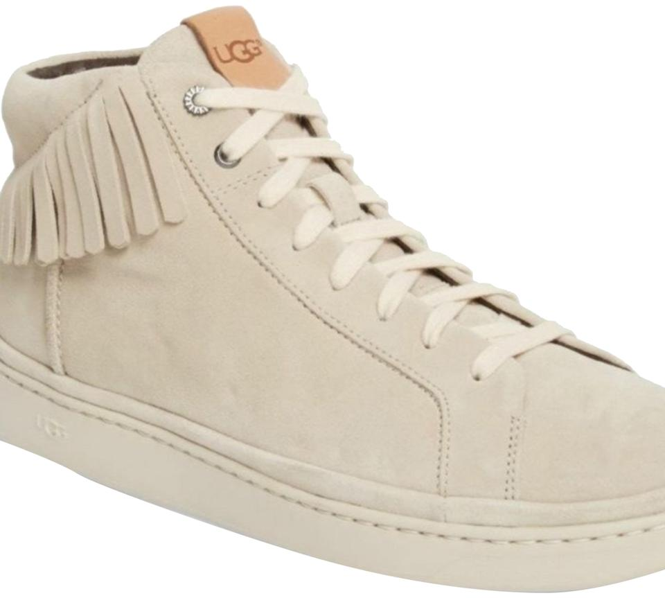 best service 0940b 1a4f5 UGG Australia Beige Tan Men's Cali High Top Fringe Suede Sneakers Size US  10 Regular (M, B) 77% off retail