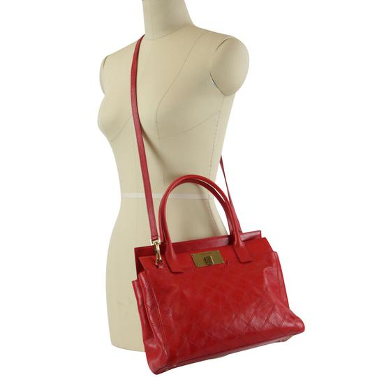Marc Jacobs Buddy Satchel in Flame Red Image 1