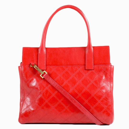 Marc Jacobs Buddy Satchel in Flame Red Image 2