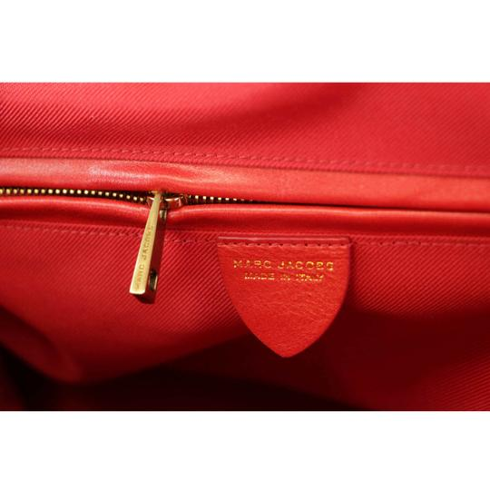 Marc Jacobs Buddy Satchel in Flame Red Image 4