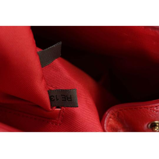 Marc Jacobs Buddy Satchel in Flame Red Image 5