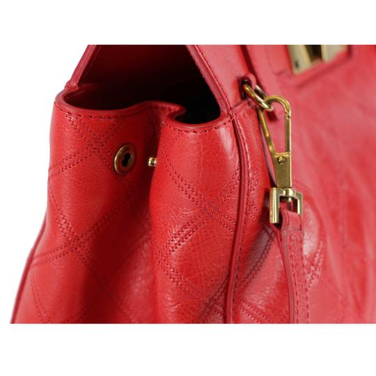 Marc Jacobs Buddy Satchel in Flame Red Image 6