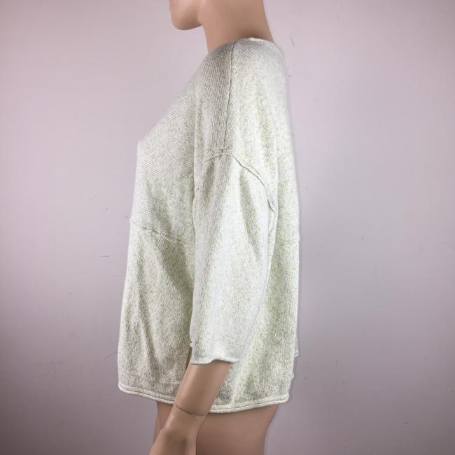 J. Jill Pure Oversized Kimono Sleeves Front Pocket Sweater Image 4