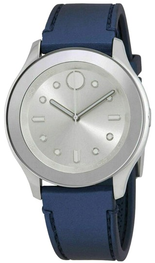 Preload https://img-static.tradesy.com/item/24975191/movado-silverblue-3600427-women-s-bold-quartz-watch-0-1-540-540.jpg