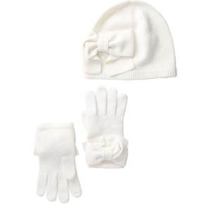 Kate Spade beanie and gloves