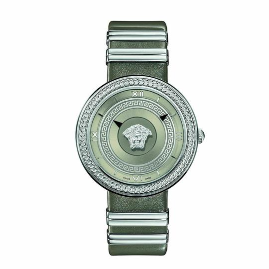 Versace Versace Watch Versace VLC120016 Women's V METAL ICON Silver Tone Watch Image 4