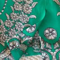 Yoana Baraschi Skirt Kelly green with shades of grey floral print Image 3