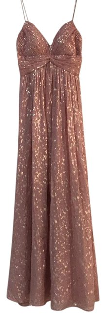 Item - Baby Pink Gold Long Formal Dress Size 0 (XS)