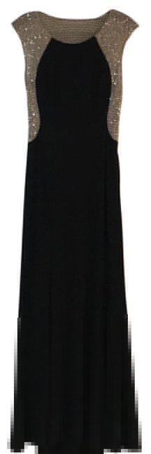 Item - Black and Silver Long Formal Dress Size 4 (S)