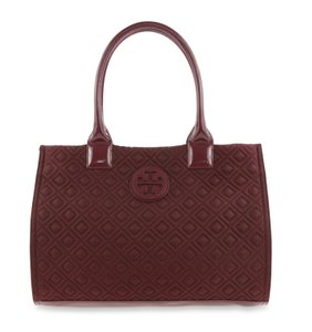 Tory Burch Nylon Ella Quilted Tote in purple
