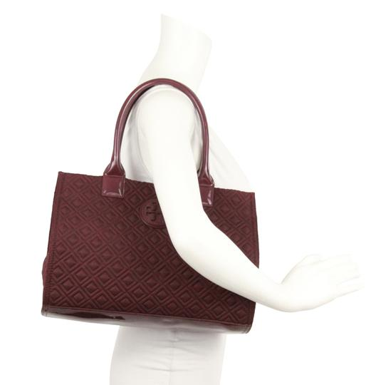 Tory Burch Nylon Ella Quilted Tote in purple Image 11