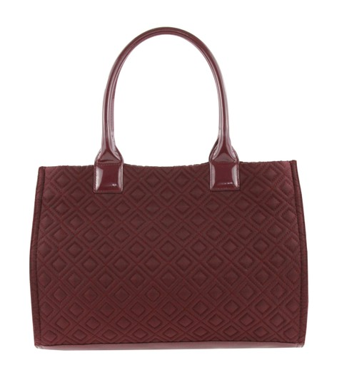 Tory Burch Nylon Ella Quilted Tote in purple Image 2
