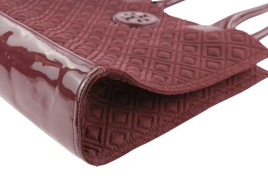 Tory Burch Nylon Ella Quilted Tote in purple Image 4