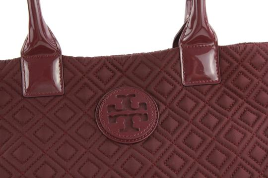 Tory Burch Nylon Ella Quilted Tote in purple Image 5