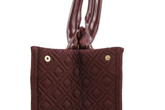 Tory Burch Nylon Ella Quilted Tote in purple Image 7