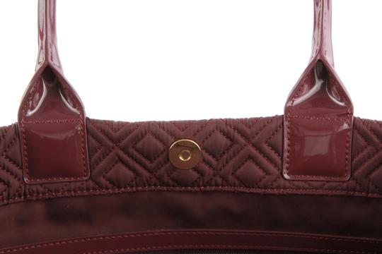Tory Burch Nylon Ella Quilted Tote in purple Image 9