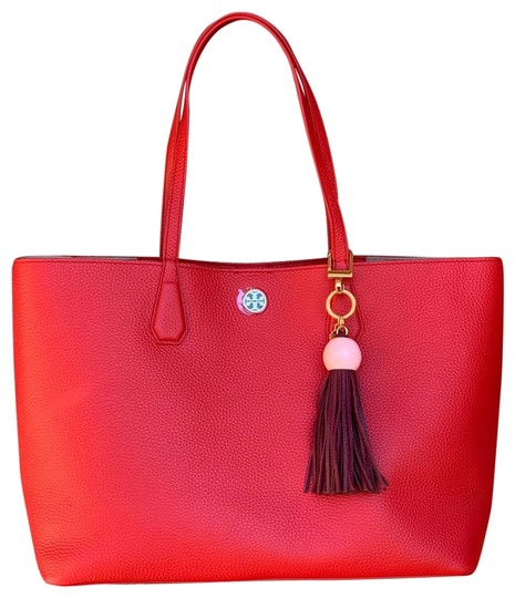 Preload https://img-static.tradesy.com/item/24975692/tory-burch-brody-liberty-red-pebble-leather-tote-0-1-540-540.jpg