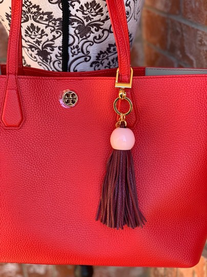 Tory Burch Tote in liberty red Image 3