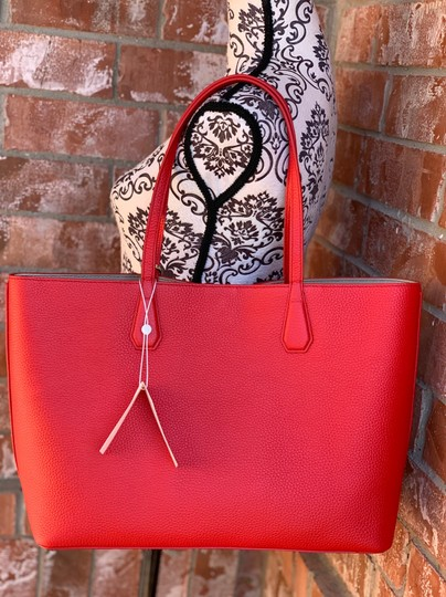 Tory Burch Tote in liberty red Image 4