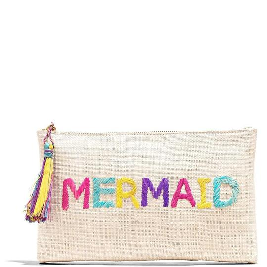 Preload https://img-static.tradesy.com/item/24975722/kayu-mermaid-embroidered-pouch-multicolor-raffia-clutch-0-0-540-540.jpg