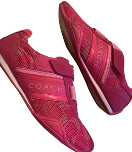 Coach Suede Sneaker Fashion Pink Athletic