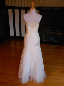 David's Bridal Ivory 9ntyp3344 Destination Wedding Dress Size 18 (XL, Plus 0x)