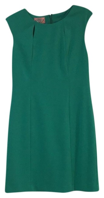 Preload https://img-static.tradesy.com/item/24975986/phoebe-couture-green-mid-length-cocktail-dress-size-10-m-0-1-650-650.jpg