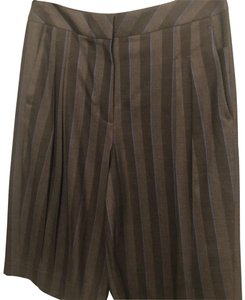 Kit and Ace Bermuda Shorts dark grey striped