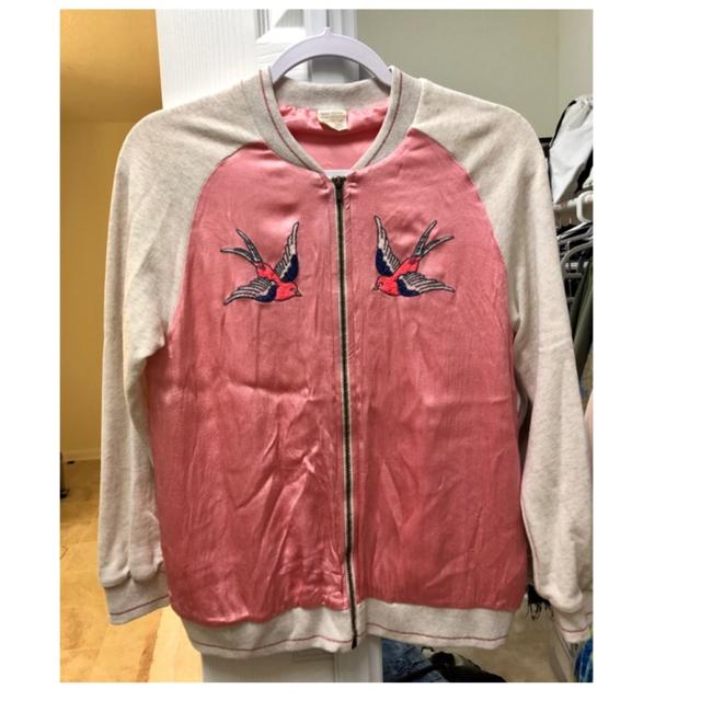 Item - White /Pink Kids Jacket Size 2 (XS)