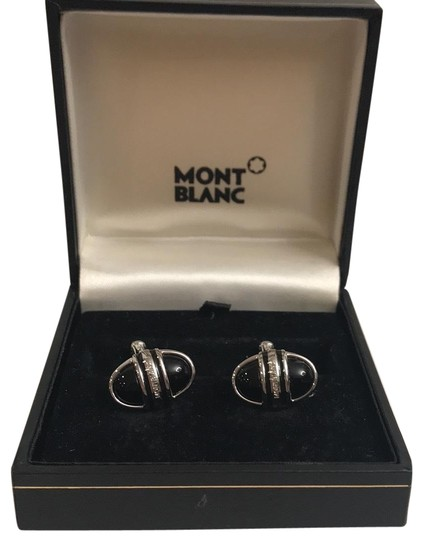 Preload https://img-static.tradesy.com/item/24976164/montblanc-silver-and-black-mb02869-0-1-540-540.jpg