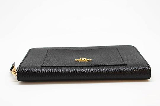 Coach Black Crossgrain Leather F54007 Women's Wallet Image 3
