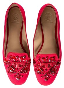 47ce1cb603c0 Red Tory Burch Flats - Up to 90% off at Tradesy