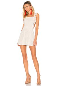 50458f1eda0 BB Dakota short dress White Cotton Handwash Cold on Tradesy