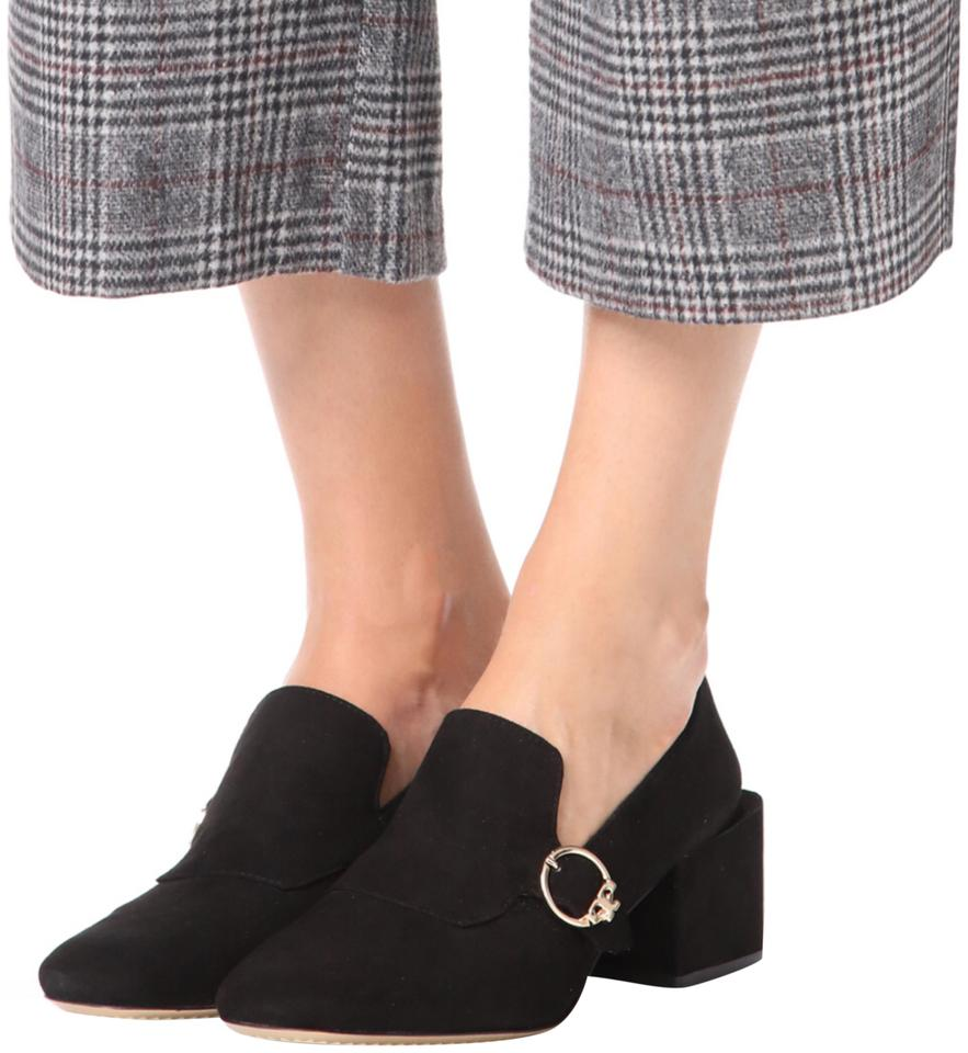 a6b99cb743cc Tory Burch Black Tess Loafer Wedges. Size  US 8 Regular (M ...