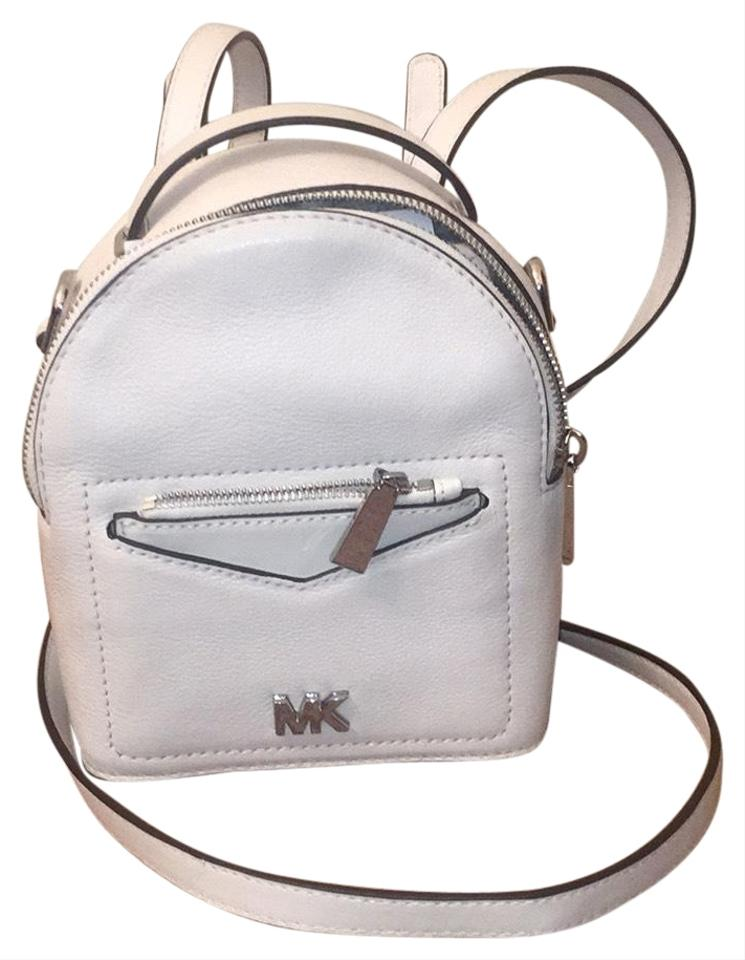 c266e6627970 Michael Kors XS Jessa Convertible Optic White Backpack - Tradesy