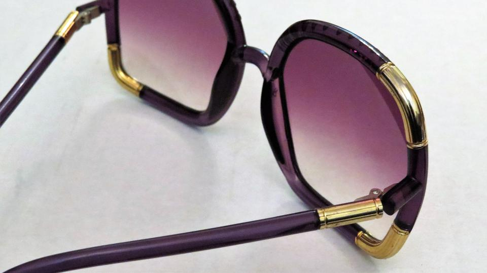 e855415eac Ted Lapidus Ted Lapidus Vintage Oversized Lucite Sunglasses with Strass  Crystals. 12345678910