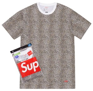 Supreme Supreme Never Worn Leopard T-Shirt
