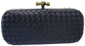 Bottega Veneta Knot Silk black Clutch
