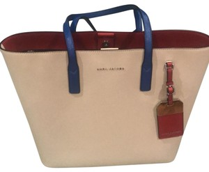 Marc Jacobs Tote in red, off white and blue