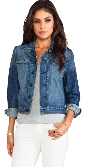 Item - Blue Bristol Fitted Jacket Size 2 (XS)